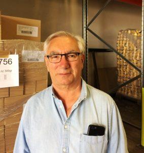 Gilbert OLIVER Président départemental de l'Aude